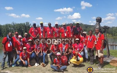 Kontigente di Scouting Antiano na Jamboree 2019