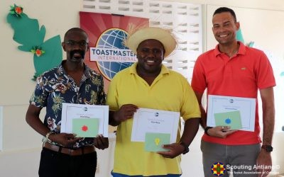 Baden Powell Toastmasters Club – International Speech Contest na Papiamentu