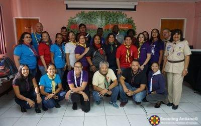 Scouting Antiano i Scouting Aruba preparando pa 90 aña mas di Scouting riba nos islanan.