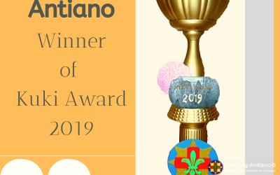 Scouting Antiano Ganadó di Kuki Award 2019