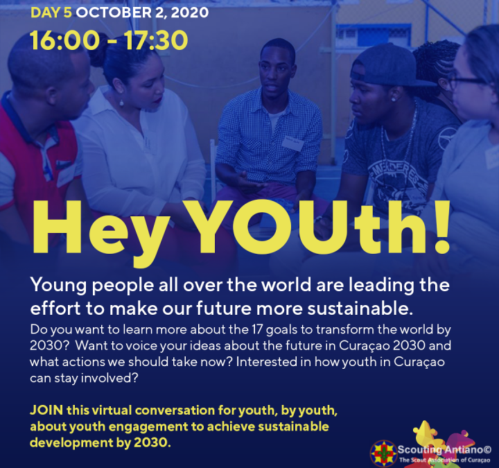 Invitashon pa hóben: Youth for the Sustainable Development Goals (SDGs)
