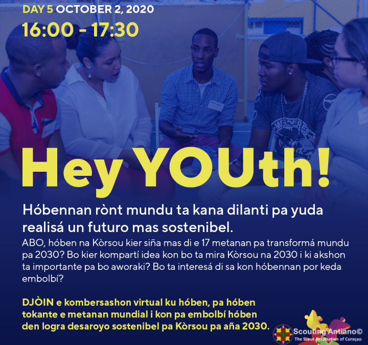 Link pa Online Zoom meeting – Youth for the Sustainable Development Goals (SDGs)