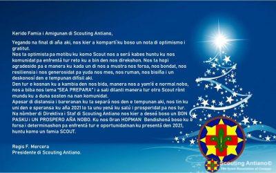 Mensaje di Temporada di Pasku di Scouting Antiano
